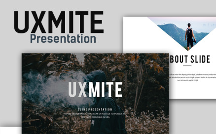 Uxmite Creative PowerPoint template PowerPoint Template
