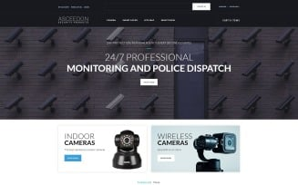 ASCEEDON - Security Products OpenCart Template