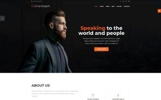 SmartCoach - Speaker Life Coach Joomla Template