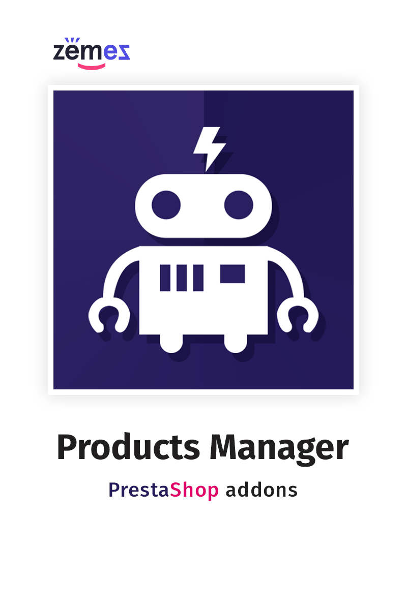 "Modul PrestaShop ""Products Manager"" #67412"