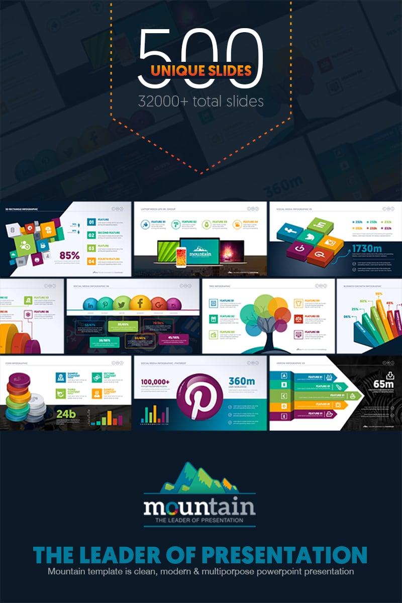 Multipurpose Business Infographic Presentation - Template PowerPoint №67443 - captura de tela