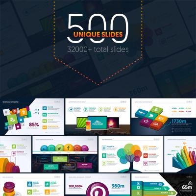 "PowerPoint шаблон ""Multipurpose Business Infographic Presentation - PowerPoint Template"" #67443"