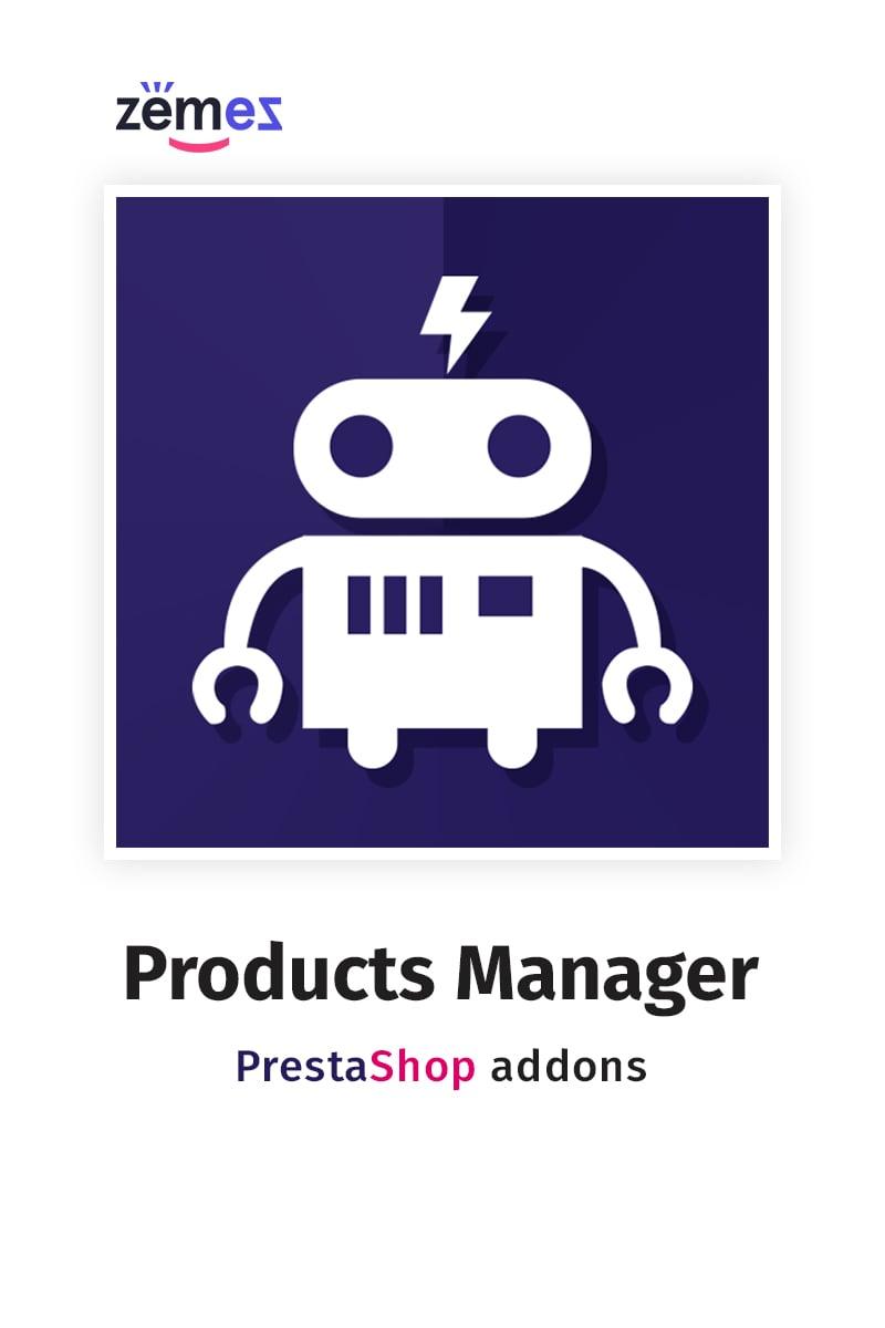 Products Manager PrestaShop Modul #67412