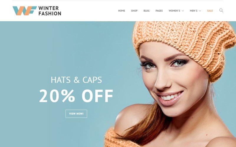 Responsywny szablon PrestaShop Winter Fashion - Fashionable Winter Wear #67492 - zrzut ekranu