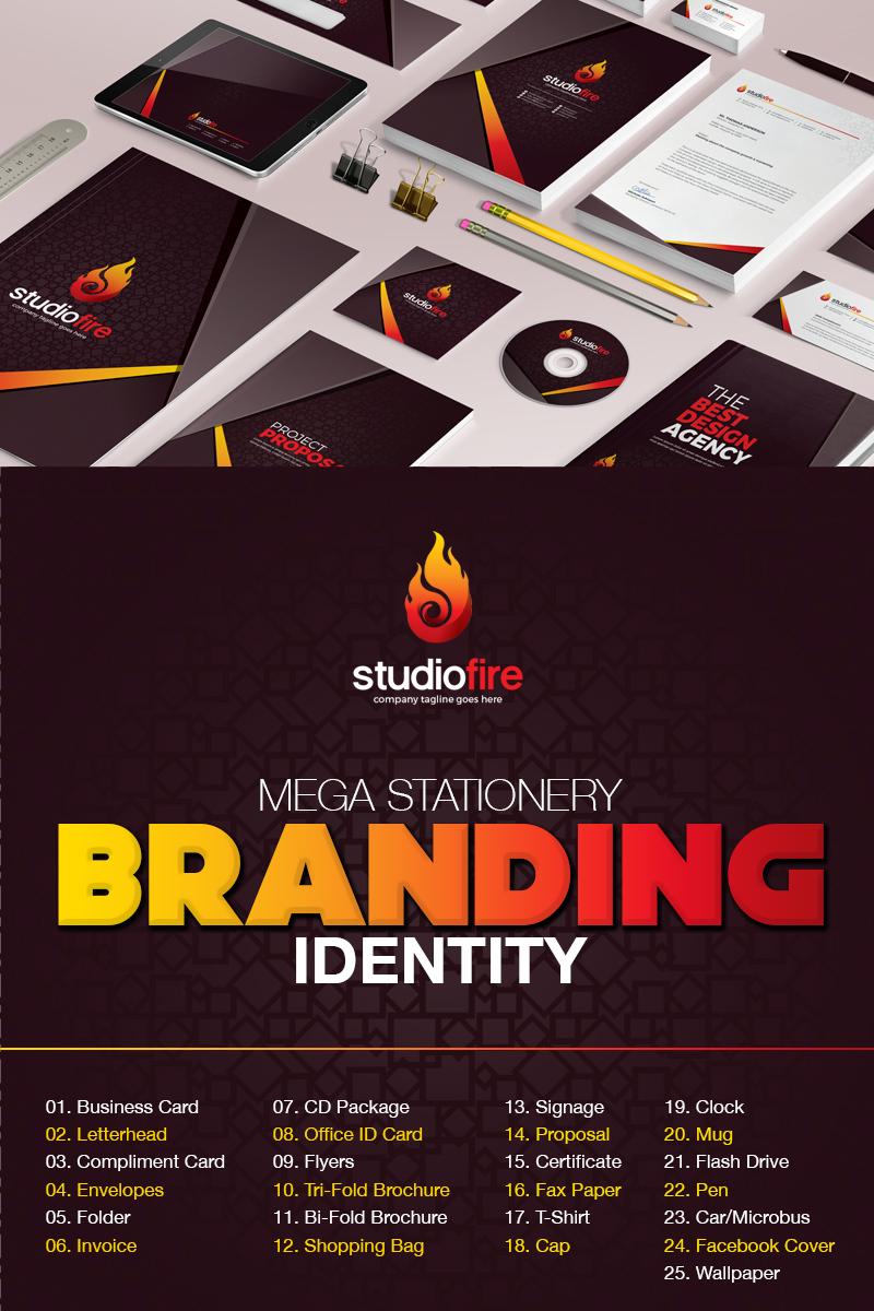 """Šablona firemního stylu """"Branding  Design -"""" #67425"""