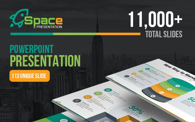 Startup Business - Presentation PowerPoint template PowerPoint Template