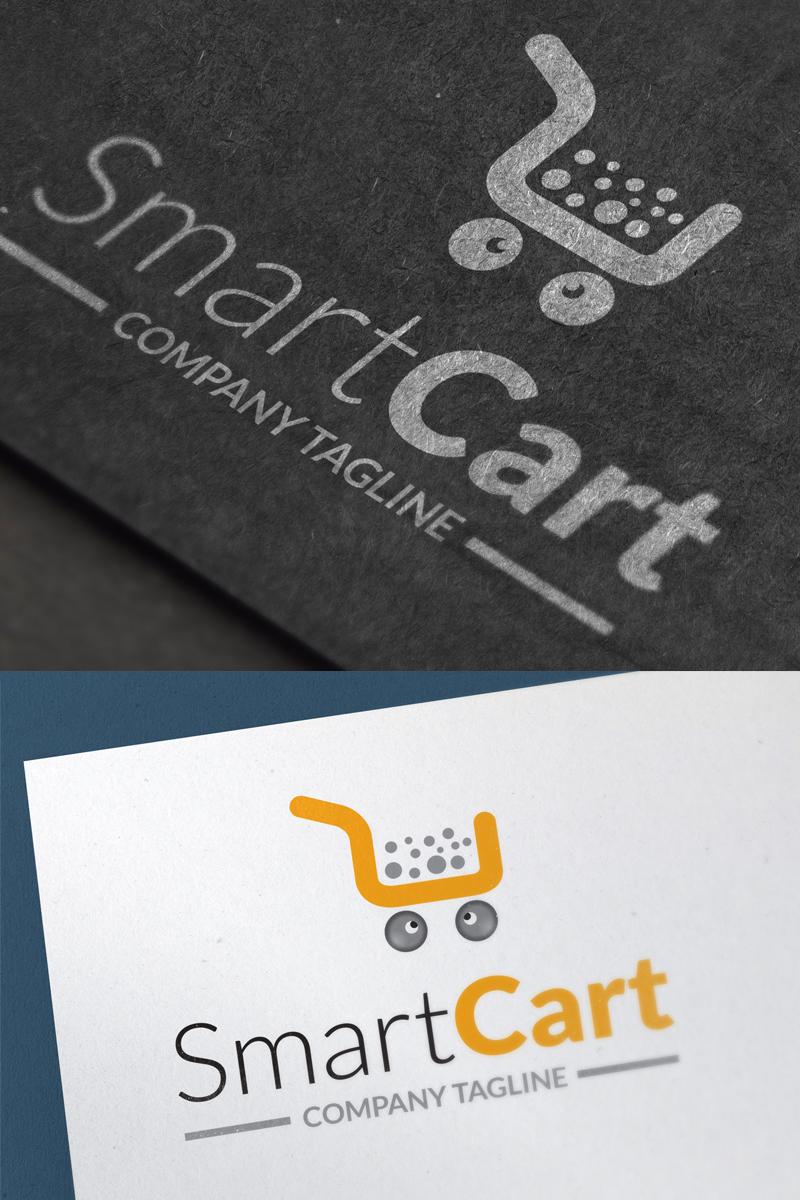 Szablon Logo Shopping Cart - #67487