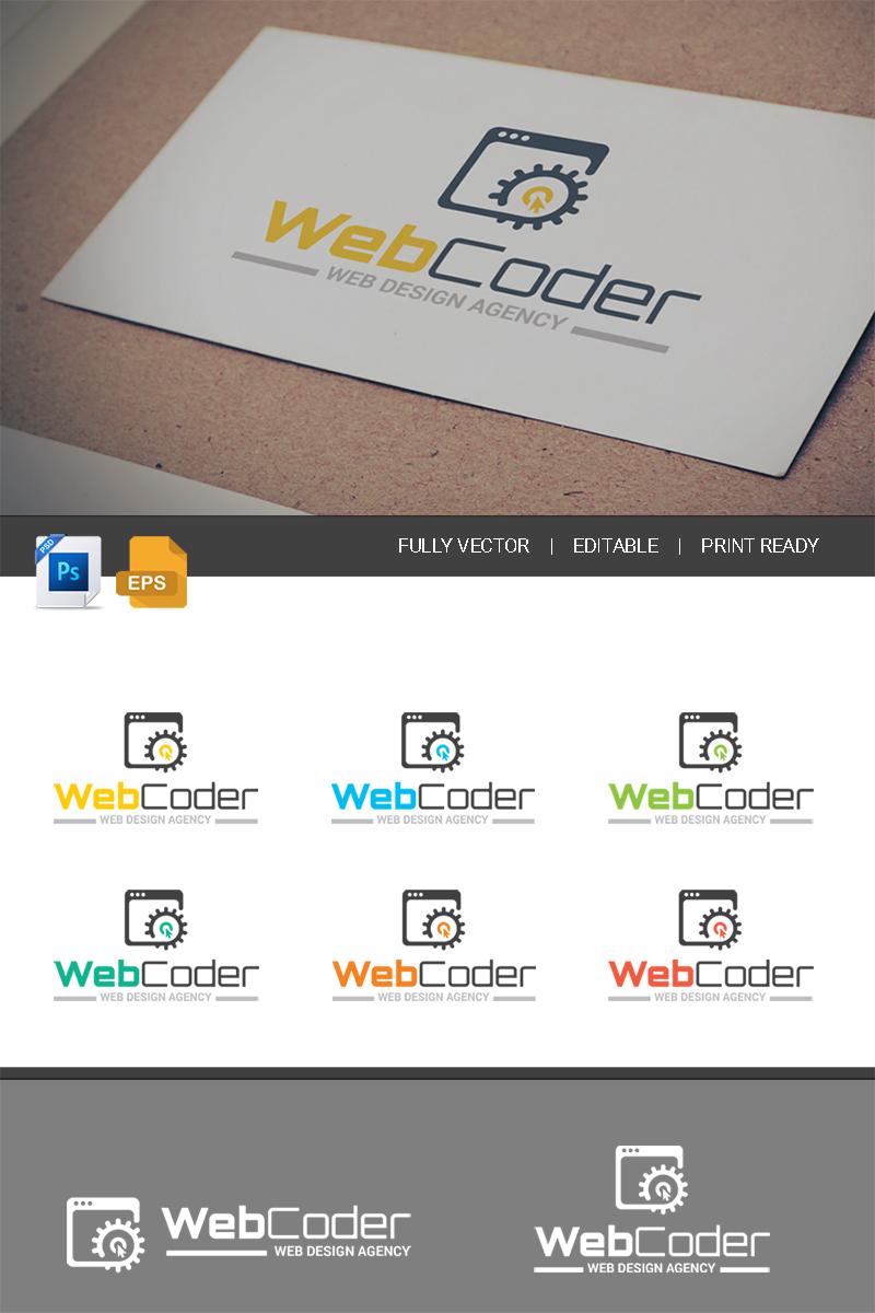 Szablon Logo Web Design & Development Agency - #67473