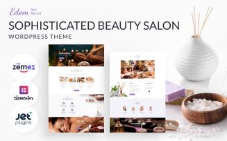 Sophisticated Beauty Salon - Edem WordPress Theme