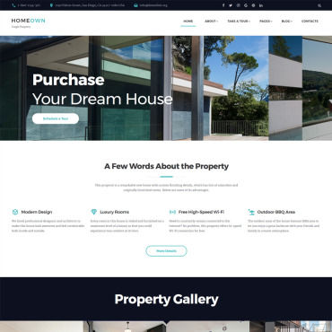 Preview image of HOMEOWN - Luxury Single Property Selling Company Multipage HTML