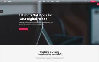 Createra - Startup Joomla Template