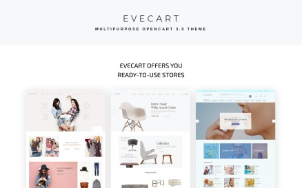 Evecat - Amazing Fashion Multipurpose Store OpenCart Template