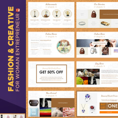Powerpoint templates outer space template monster fashion creative catalogue powerpoint template toneelgroepblik Choice Image