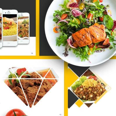 Food Presentation Powerpoint Template 67553