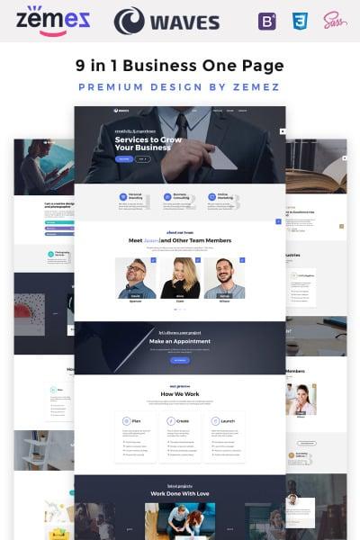 Plantilla Web para Sitio de Diseño interior #67557