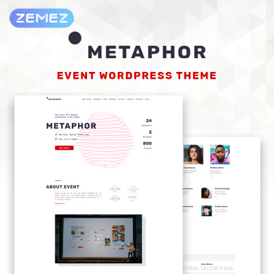 Plantillas para Sitios de Organización de Eventos | TemplateMonster