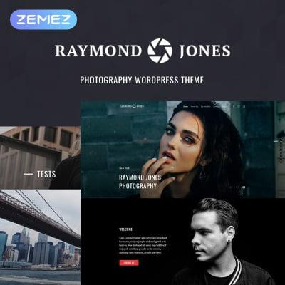 Raymond Jones - Photographer Portfolio Landing Page