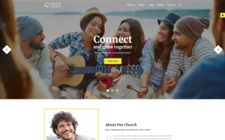New Life Church Joomla Template