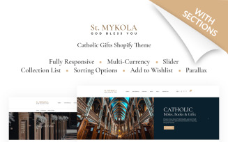 St.Mykola - Catholic Store Shopify Theme