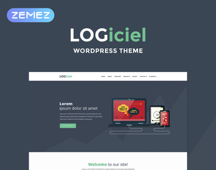 Logiciel - Software Company WordPress Theme