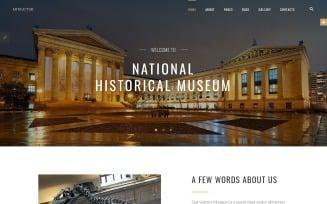 Artifactur - Museum Joomla Template