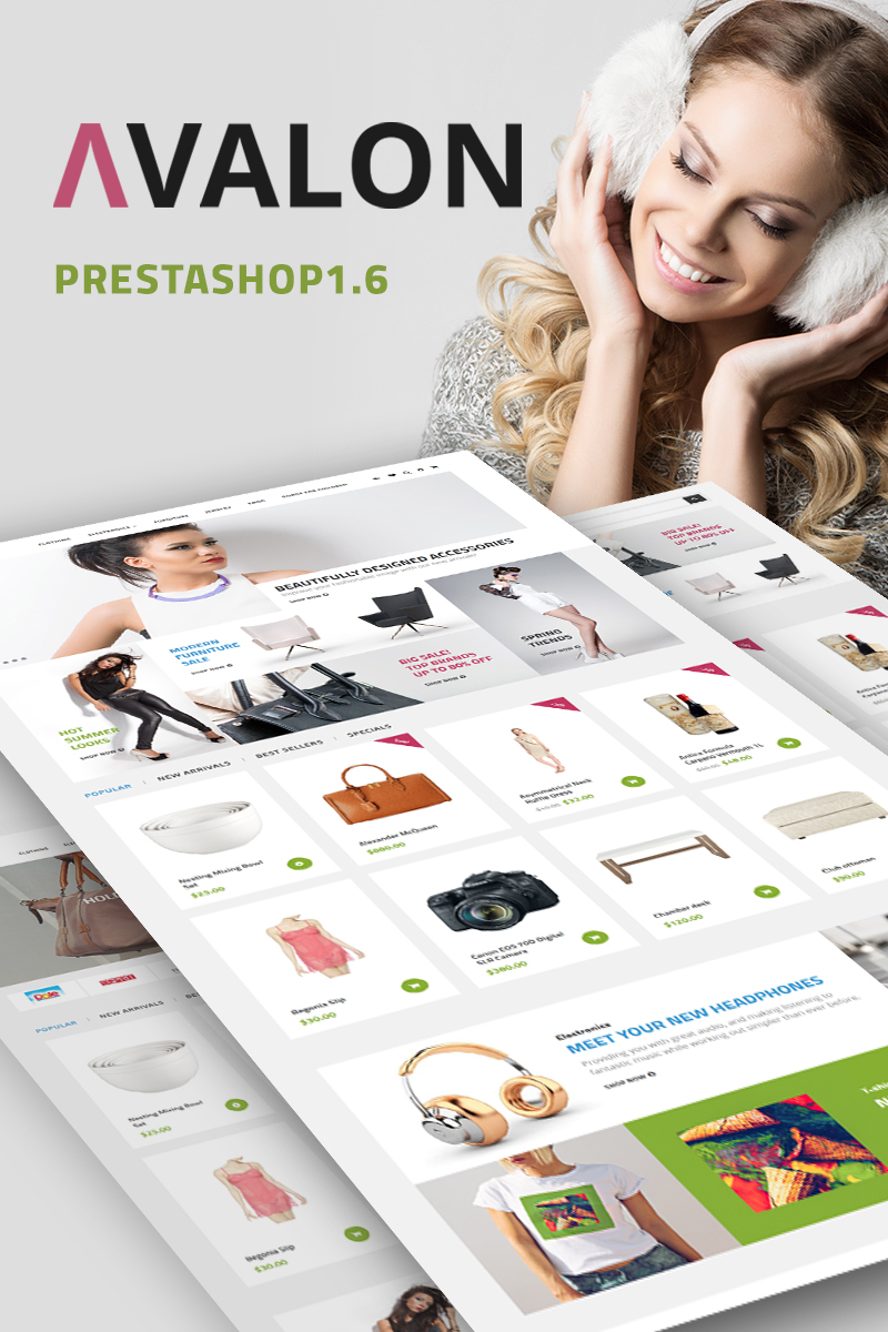 Avalon - Wholesale Store PrestaShop Theme