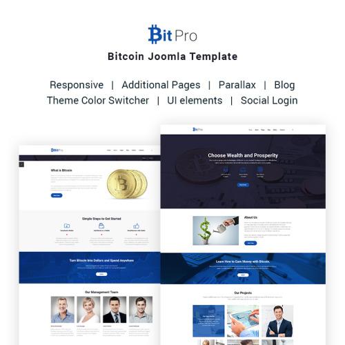 BitPro - Bitcoin - Joomla! Template based on Bootstrap