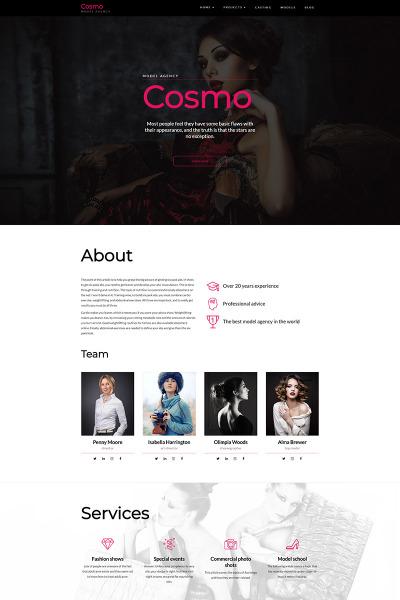 Cosmo - Model Agency