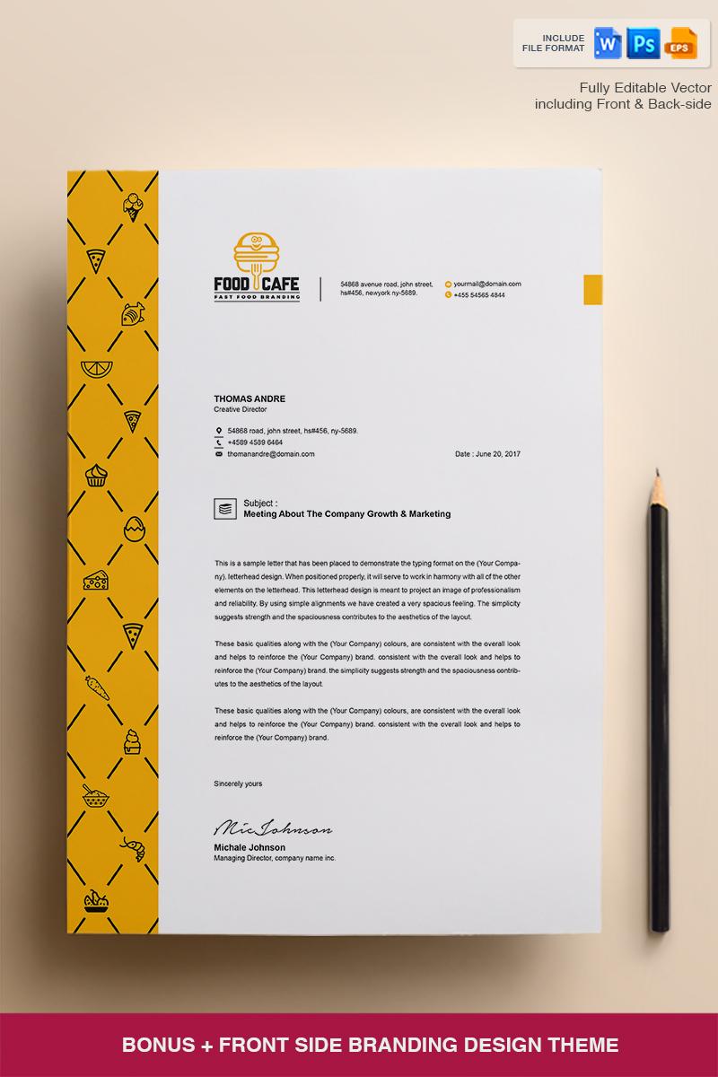 Creative Letterhead Template - Corporate Identity Template