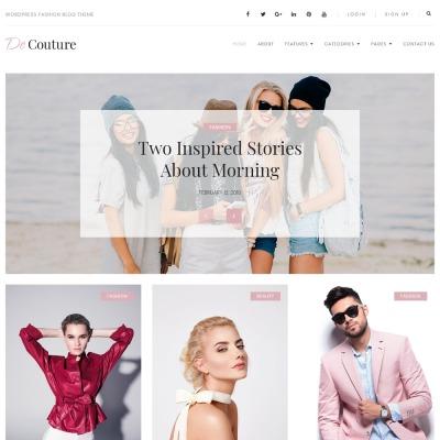 162+ Best Fashion & Beauty WordPress Themes 2018 | TemplateMonster