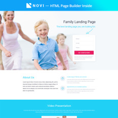 Medical Responsive Landing Page Template - Medical landing page template