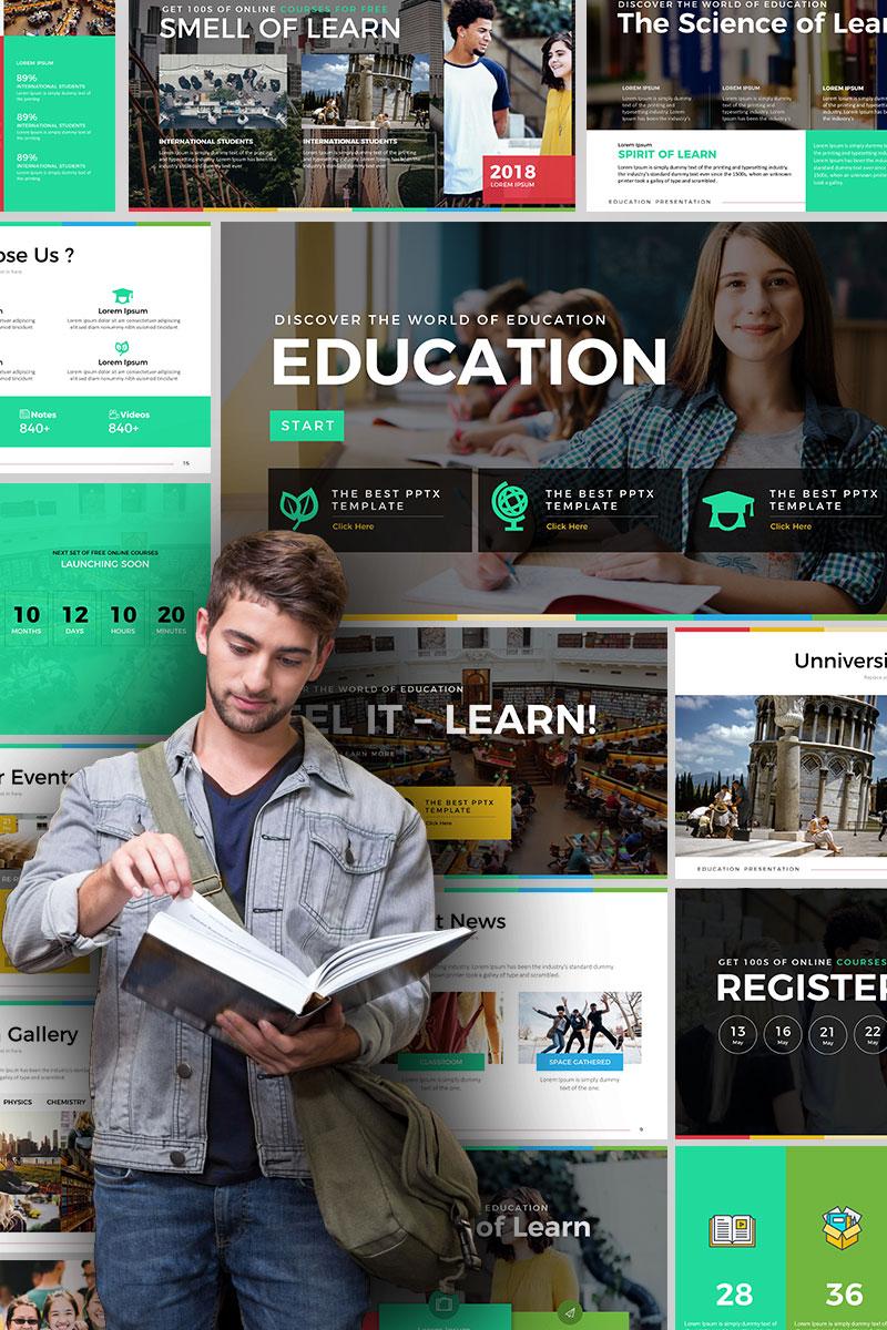 "PowerPoint šablona ""Education - Presentation"" #67632"