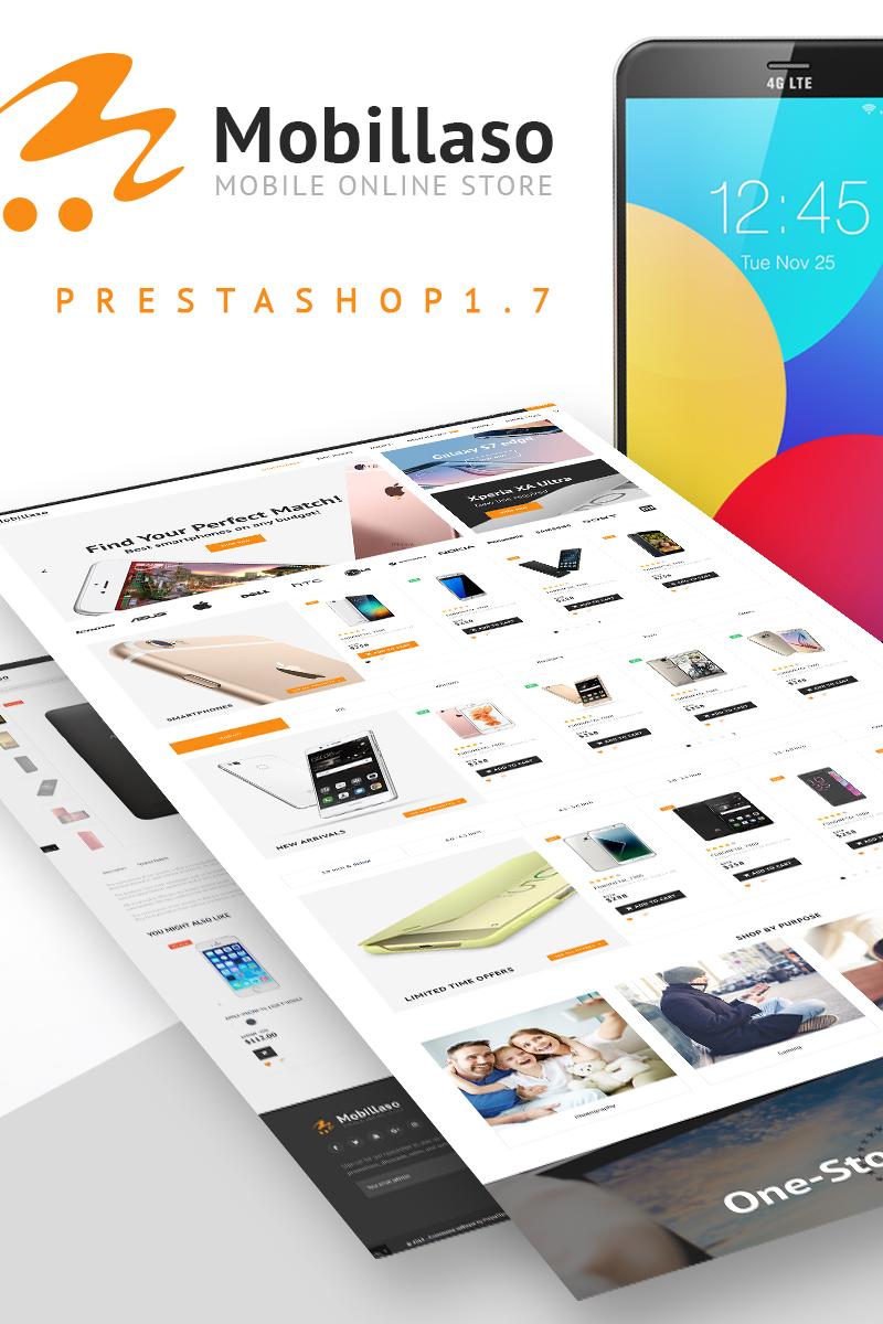 "PrestaShop Theme namens ""Mobillaso - Mobile Store"" #67629"