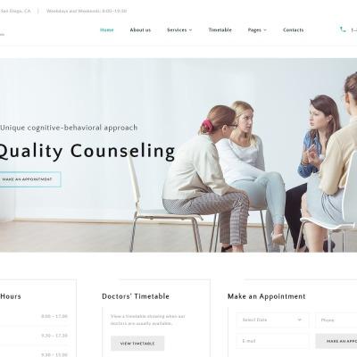 Medizin und Gesundheitspflege Vorlagen | TemplateMonster