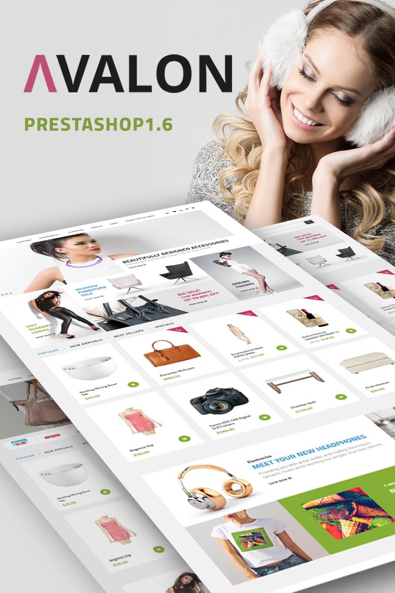 Responsywny szablon PrestaShop Avalon - Wholesale Store #67686