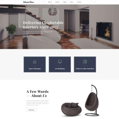 Furniture Responsive Šablona Webových Stránek