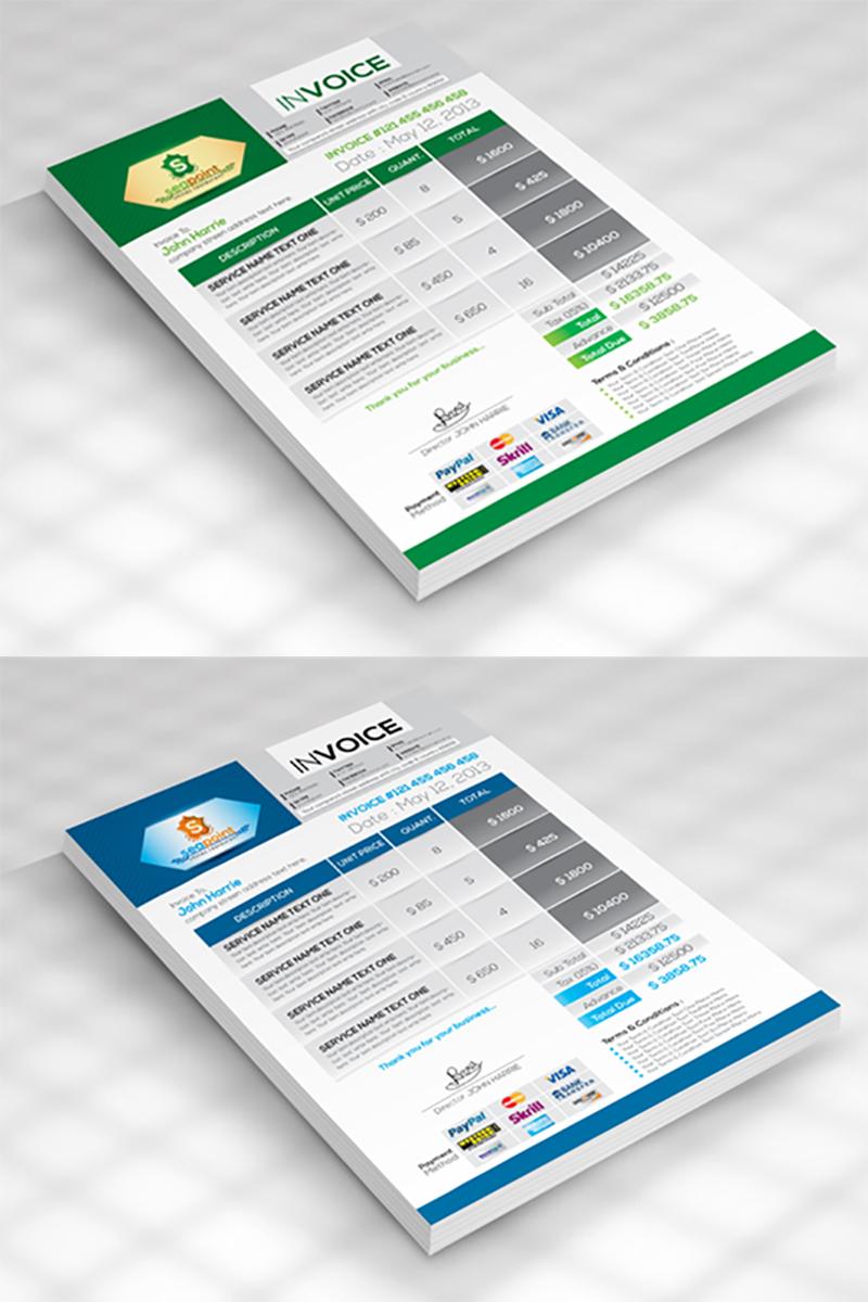 SeaPoint Creative Invoice - Corporate Identity Template