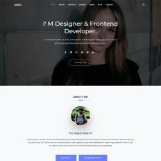 CV Website Templates | TemplateMonster