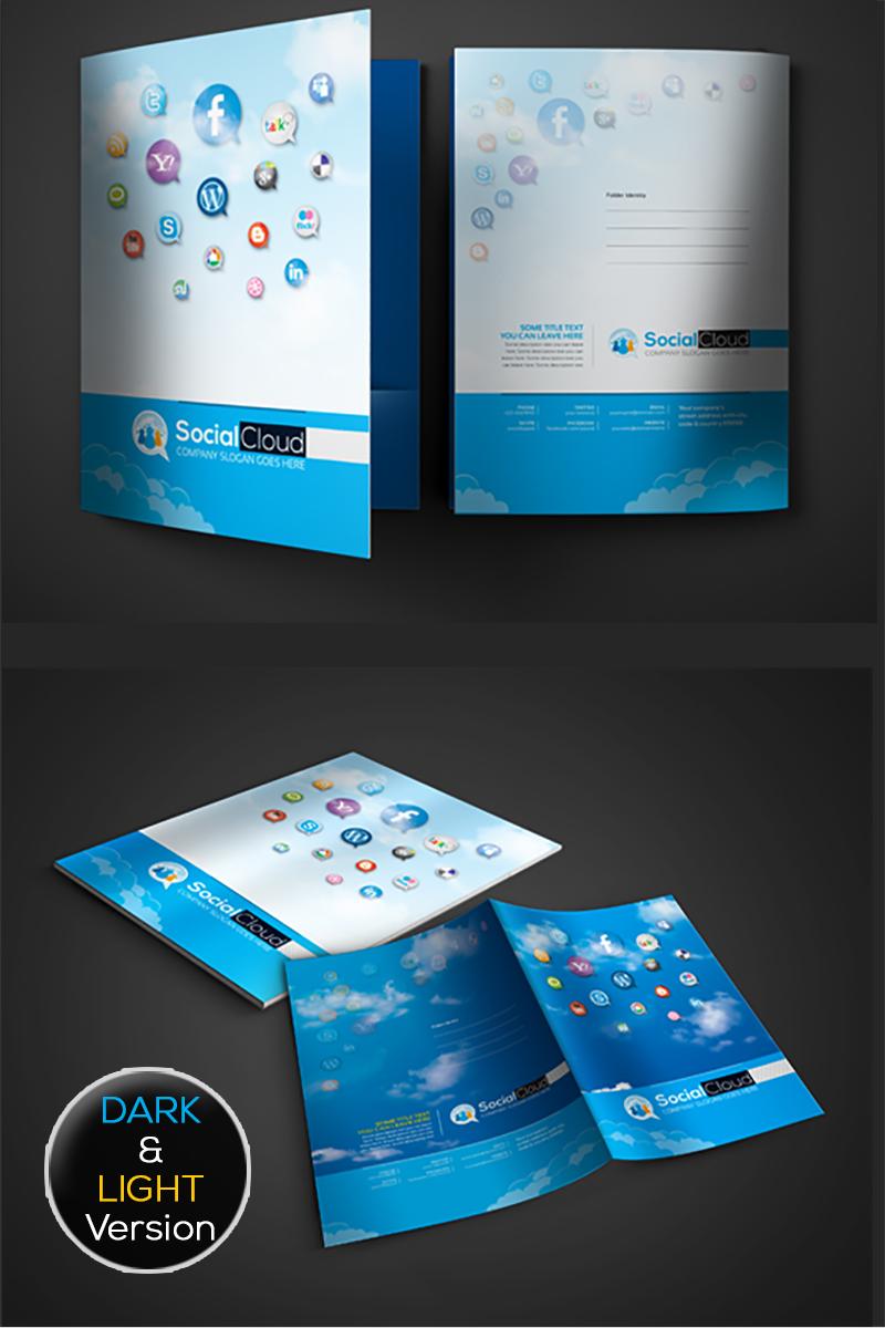 social media presentation folder