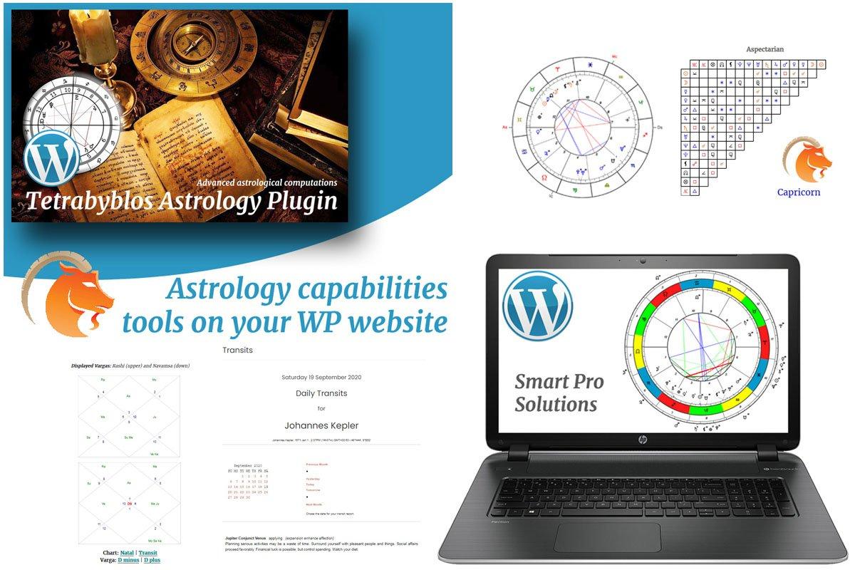 "Tema Plugin per WordPress Responsive #67605 ""Tetrabyblos - Astrology"""