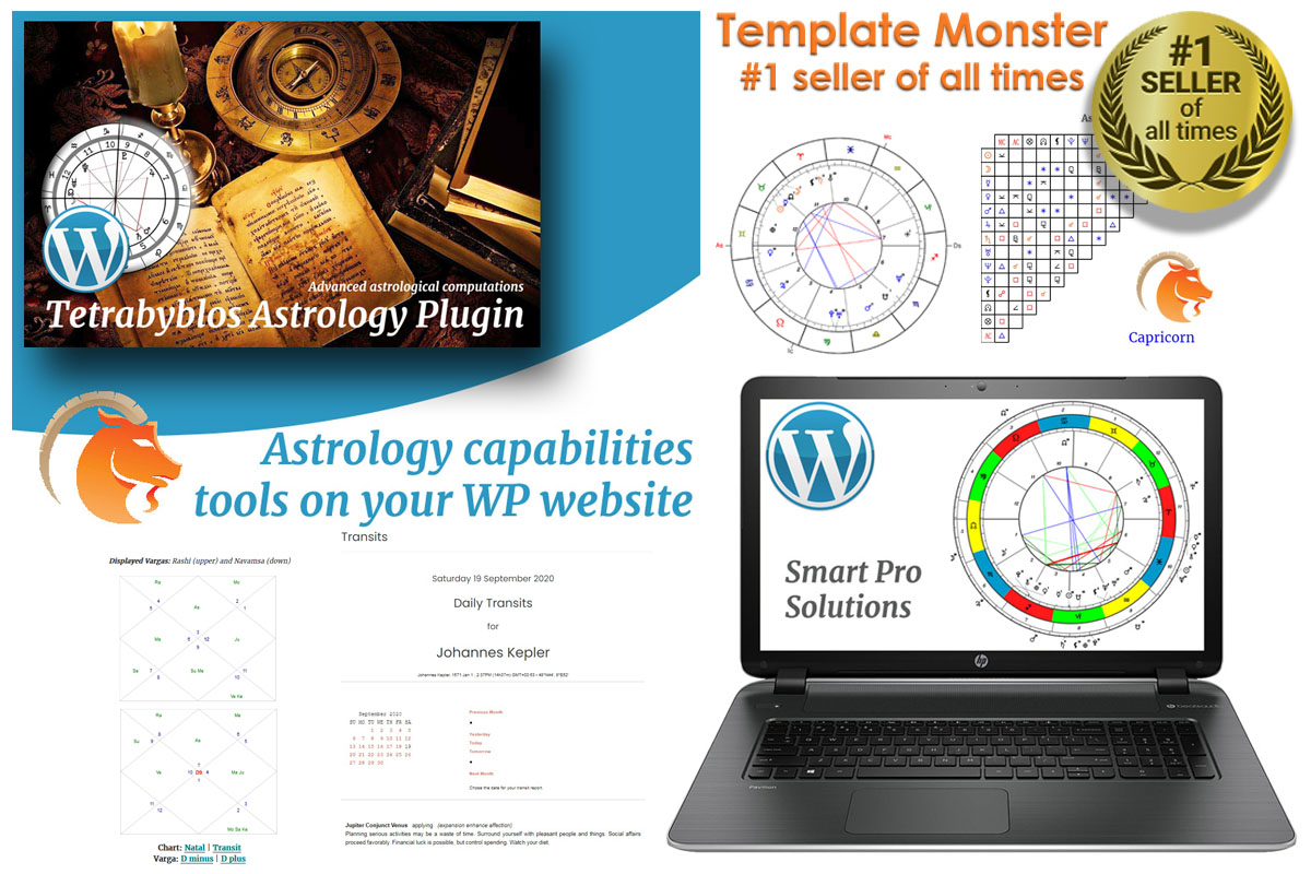 Tetrabyblos - Astrologie WordPress-plug-in