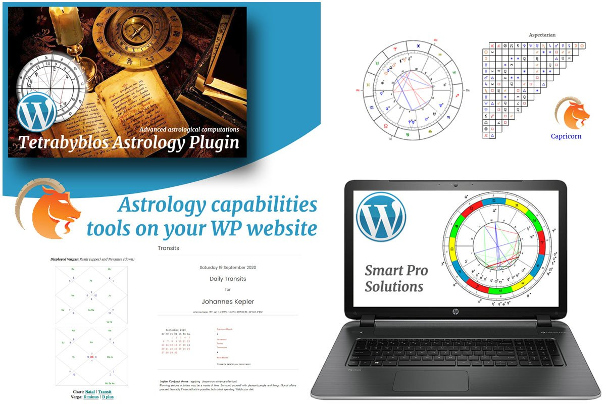 """Tetrabyblos - Astrology"" Responsive WordPress Plug-in №67605"