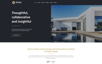 Archus - Architect Company WordPress Theme