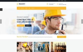 Buildify - Construction Company Joomla Template