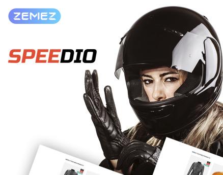 Speedio - Responsive Cars & Motorcycles Equipment Store WooCommerce Theme