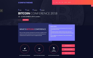 ConfaTheme - Stylish Conference Joomla Template