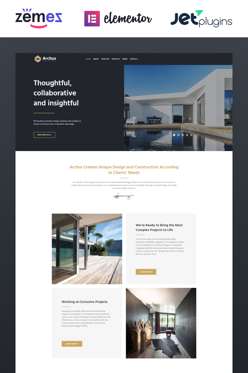 Archus - Architect Company №67721 - скриншот