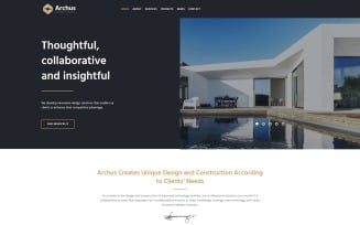 Archus - Architect Company WordPress Theme