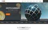 Blockchain technology - Efficient Blockchain Project Multipage HTML Template Web №67734