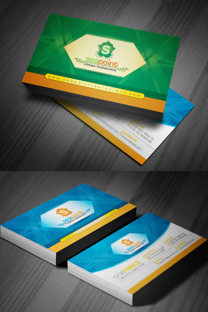 Business Card for Hotel and Resort Corporate Identity Template #67745